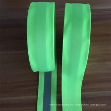 banda de cinta reflectante luminosa para la tira reflectante del chaleco de seguridad