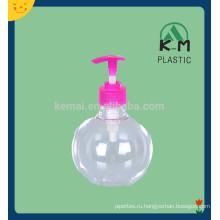 пластик ПЭТ лосьон насос бутылка с белым цветом распределитель насоса лосьона