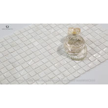 Natural White Square Raw Mother Of Pearl Shell Mosaic Tile