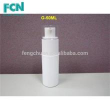 30ml 50ml 70ml PETG Emballage cosmétiques de luxe blanc bouteille de lotion set set