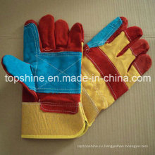 Перчатки для промышленной безопасности Кожаные перчатки Сварочные перчатки
