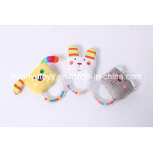 New Design of Stuffed Handbell Toy for Infant Baby