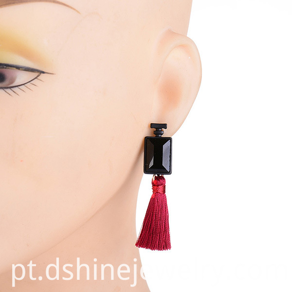 Tassel Drop Earrings For Girl