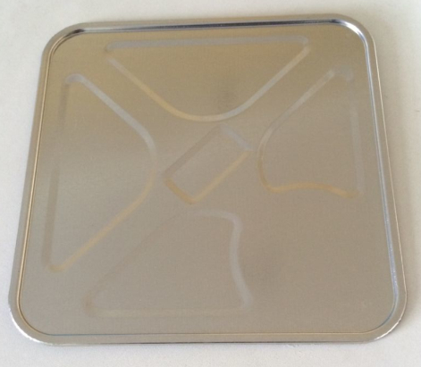 Alimentación de material de bobina Conecte la punzonadora para hacer una línea de tapa de cubeta de hielo / lata de metal