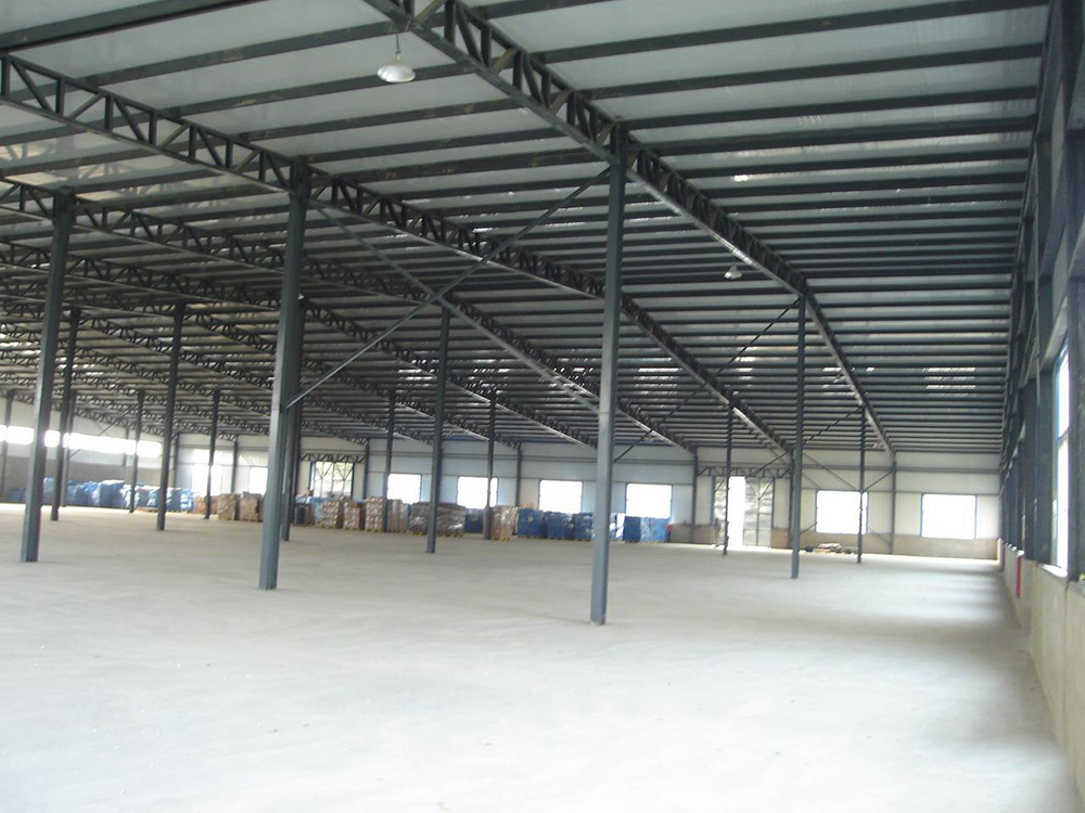 Steel Frame Construction Shed
