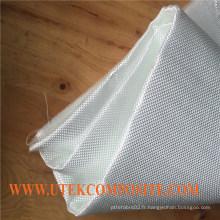 Tissu de fibre de verre amélioré Warp de 6 oz pour la planche de surf