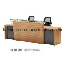 Recepción de escritorio de los muebles de oficina de China para la venta (FOH-RD-2410)