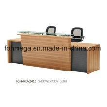 Meuble de bureau en Chine Bureau de réception avant à vendre (FOH-RD-2410)