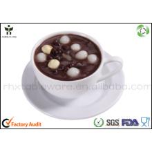Bandeja de café para utensílios de mesa descartáveis
