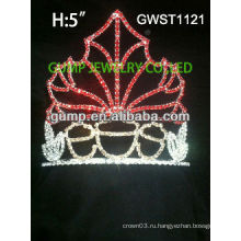 Очаровательная сезонная традиционная горная хрустальная корона тиара -GWST1121