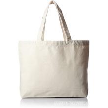 Bolsos de compras reutilizables lisos de color blanco roto
