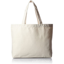Plain off white reusable shopping tote bags