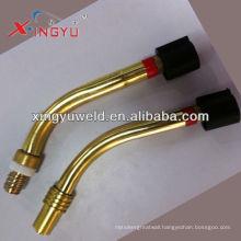 Binzel brass swan neck /mig welding torch goose neck