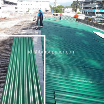 Non-asbestos Tahan Air PET Fiol MgO Roofing Sheet