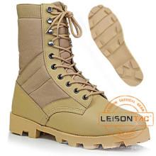Botas de Tactical Deserto Militar de Nylon impermeável e Couro de Couro
