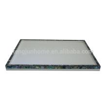 Bathroom shell plastic tray