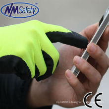 NMSAFETY softy touch screen labor gloves factory