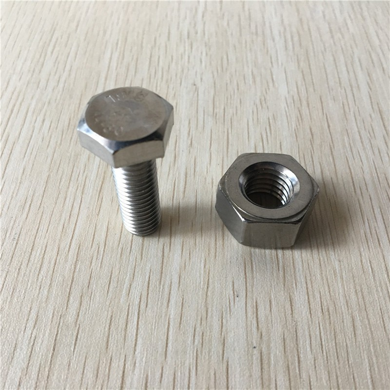 Hot Sale 316 Stainless Steel Hexagon Bolts 4