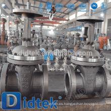 Didtek European Quality Petrochemical tipo de brida de válvula de compuerta