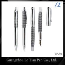 Классическая гравировальная металлическая шариковая ручка и ручка Cap-off Rollerball Pen