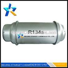99,9% de refrigerante de pureza R134a preço do gás para uso automotivo