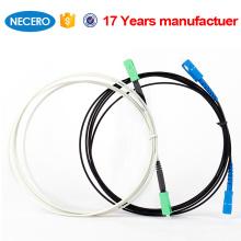 cabo de remendo FTTH da fibra singlemode do sm-SC do interior e do exterior SC-SC
