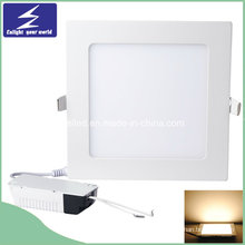 18W 85-265V Ultra-Thin Square Painel LED embutido Downlight