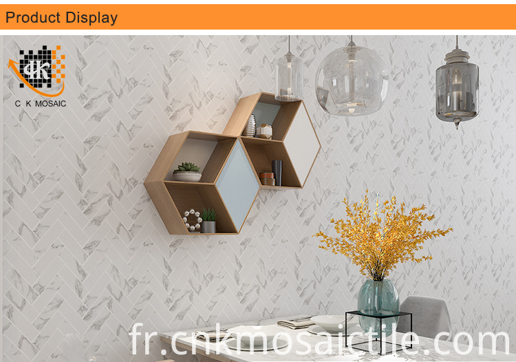Marble mosaic printing for wall decoration