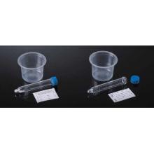 Conjunto de coleção de urina com lâmpada Tubo de sedimento de urina inferior
