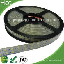 Двухрядная светодиодная лента SMD 5050, 126 светодиодов / м, 150 Вт