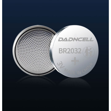 DADNCELL Button Battery 3V BR1632A Safety Lithium Fluoride Carbon Cells For Car Keys  Hearing Aids