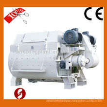 4m3 twin-shaft concrete mixer adopt italian technology made in China