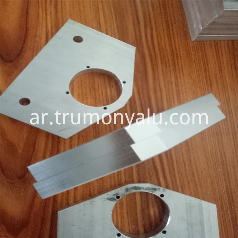 CNC Engraving and milling Aluminum sheet and spare part06