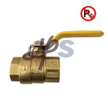высокое качество 600 WOG свинца бесплатно полный порт латунный шаровой клапан NPT резьба с ручной ручкой