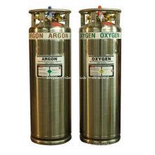 High Pressure Argon and Oxygen Cylinder