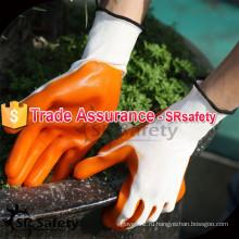 SRsafety 2015 13G трикотажная пряжа с покрытием из нитрила PLM рабочая резиновая перчатка с лучшей ценой