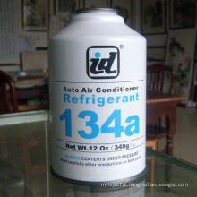 lata pequena do gás do líquido refrigerante r134a com boa qualidade