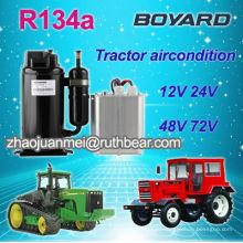Низковольтный блок кондиционера кабины трактора с ротационным компрессором r134a