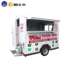 coche de comida móvil para snack quiosco