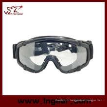 Очки Tacitcal очки Airsoft очки PC баллистики изумленный взгляд черный