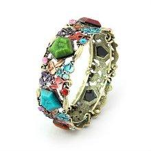 Fashion Vintage Colorful Resin Bangles Bracelets Et Bangles BA11