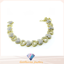 Pulsera de plata de la joyería de la manera 925 de la mujer caliente de la venta (BT6602)