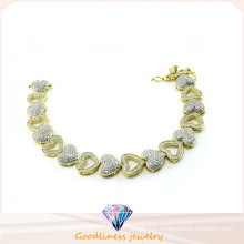 Hot Sale Woman′s Fashion 925 Silver Jewelry Bracelet (BT6602)
