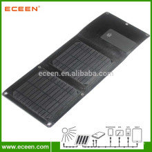 Panneau solaire portable portable imperméable à l'eau de haute qualité pour chargeur mobile