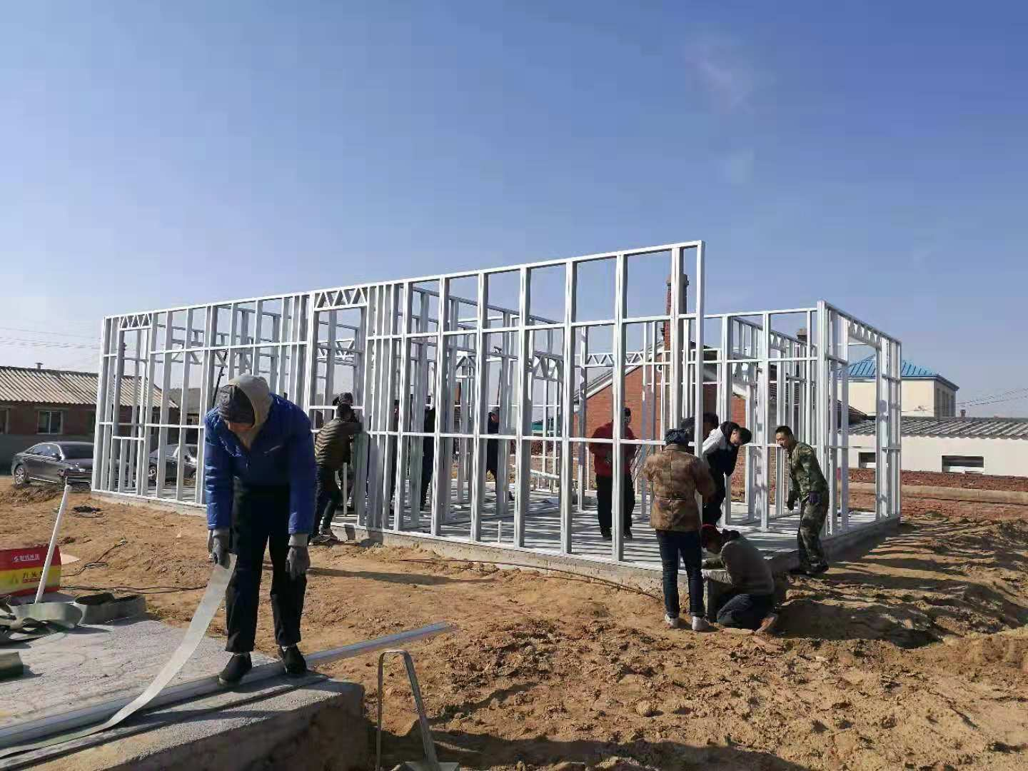 Ready Made Light Steel House