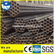 Factory price black welded Q345B steel pipe for structure