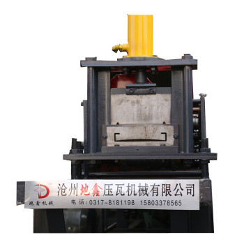 2018 dx new wai baffle roll forming machine