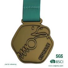 Custom Metal Antique Gold Medals for Souvenir