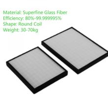 Micron Reemplazo de fibra de vidrio HEPA Núcleo del filtro de aire