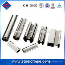 Fornecedores grossistas chineses galvanizado tubo de aço sem costura para material de construção e oleoduto